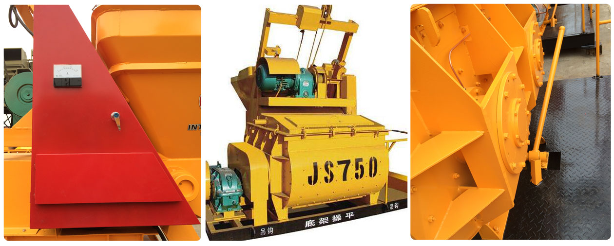 JS750 concrete mixer machine