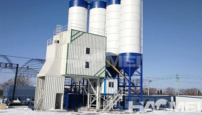 cost of concrete batching plant