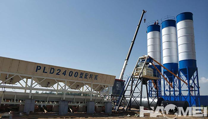 cost to build a concrete batching plant
