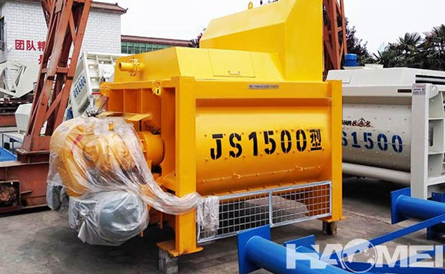 twin shaft concrete mixer manufacturers